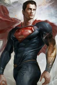 1242x2688 Superman Art2020