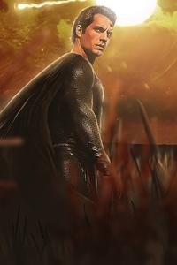 Superman Black Cape