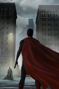 240x400 Superman Cape Flying
