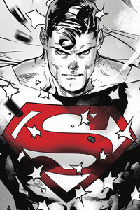 Superman Dc Comic Art