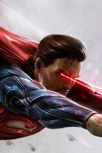 720x1280 Superman Digital Art HD