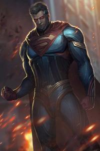 1080x2160 Superman Fanart