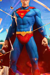 1242x2688 Superman Fortnite 4k