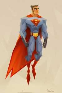 2160x3840 Superman Fun Art 4k