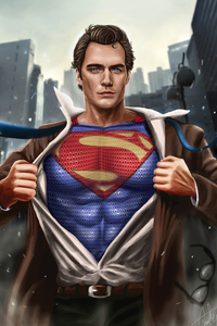 800x1280 Superman Henry Cavill 2020 New 4k