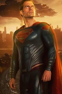 1125x2436 Superman Henry Cavill 5k