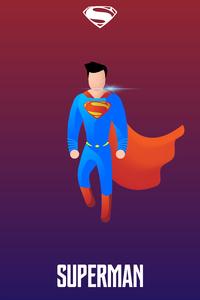 Superman Illustration 4k