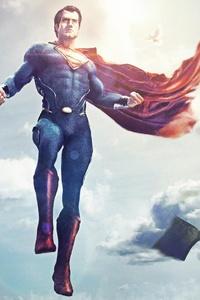 320x568 Superman Justice League Fan Artwork