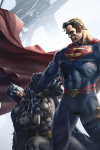 240x320 Superman Killing Batman