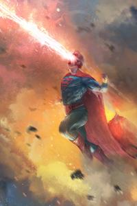 Superman Laser Eye Art