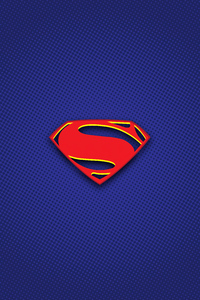 320x568 Superman Logo Illustration 5k