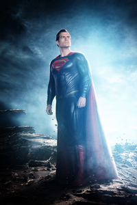 Superman Looking Away