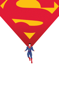 800x1280 Superman Man Of Steel 2020 4k