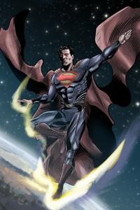 Superman Man Of Steel Digital Art