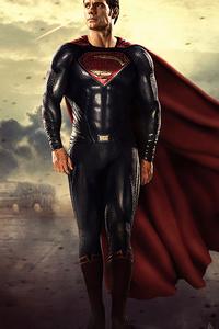 Superman Man Of Steel Walking