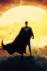 1440x2560 Superman Man Of Steel4k