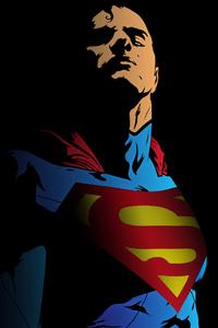 Superman Minimal 4k