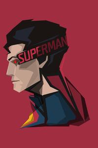 Superman Minimal 8k