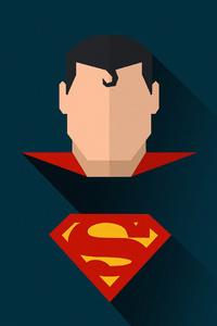 Superman Minimal Art