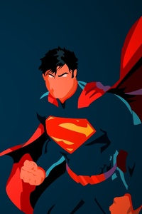 800x1280 Superman Minimal