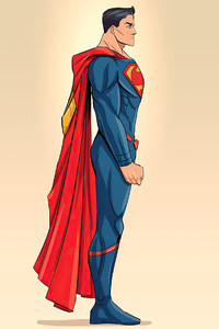 Superman Minimalism 4k 2020