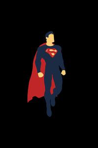 Superman Minimalism 4k