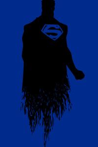 Superman Minimalism 8k