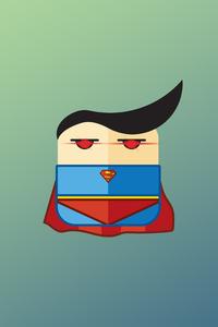 Superman Minimalist 4k