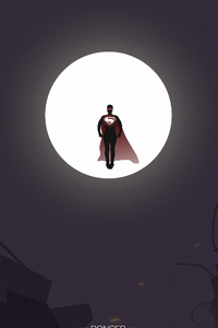 1080x2280 Superman Moon Knight