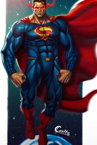 Superman New 4k Art