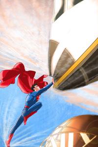 Superman New Comic Art