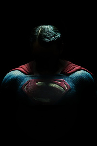 640x1136 Superman Night