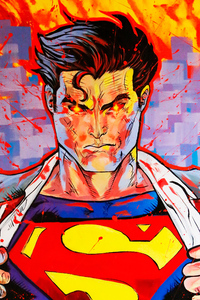 Superman Opening Shirt
