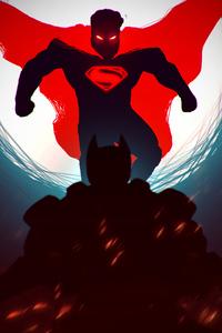 1125x2436 Superman Red Dark
