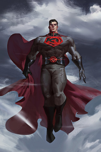 320x568 Superman Red Son 2020 4k