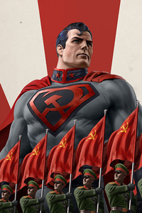 320x568 Superman Red Son 2020