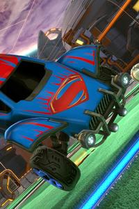 Superman Rocket League Dlc 4k
