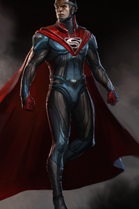1125x2436 Superman Suit Injustice 2
