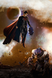 540x960 Superman Thanos Head Off