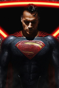 320x568 Superman The Knight 4k