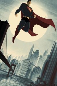 1125x2436 Superman Up 4k