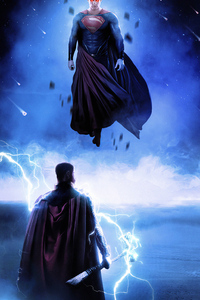 320x568 Superman Up Art