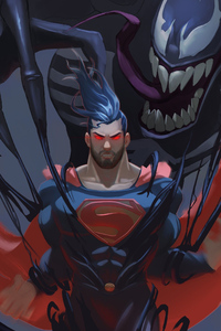 Superman Vs Venom