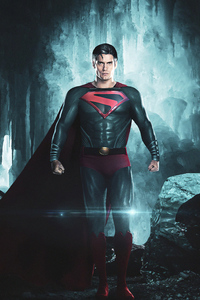 640x1136 Superman White Hair