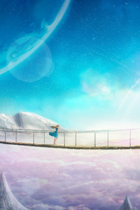 Supernova Anime Landscape