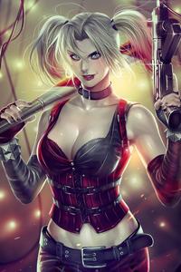 Supervillain Harley Quinn