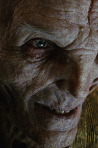 Supreme Leader Snoke Star Wars The Last Jedi