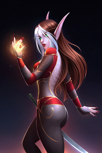 640x960 Sura Shattersun Warcraft