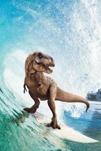 540x960 Surfing T Rex