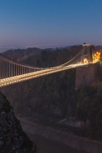 Suspension Bridge Uk England